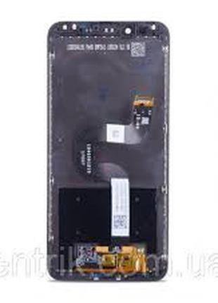 Дисплей для Xiaomi Mi A2/Mi 6x черный, в сборе с тачскрином, ориг