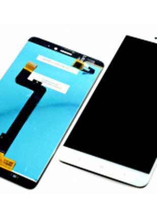 Дисплей для Xiaomi Mi Max 2 белый, с тачскрином