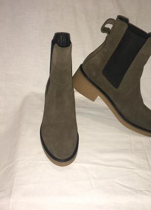 Ботинки *tommy hilfiger* кожа португалия р.41 (27.00 см)