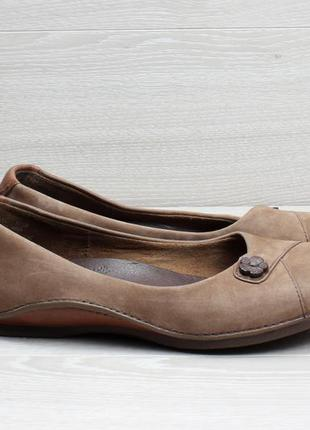 Кожаные женские туфли/ балетки timberland оригинал, размер 37 ...