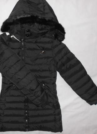 Курточки зимние на девочек, 8 - 14 лет, венгрия