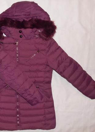 Курточки зимние на девочек, 10 - 16 лет, венгрия