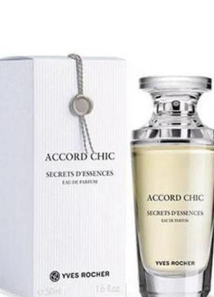 Духи парфюм парфюмированная вода accord chic аккорд шик yves r...