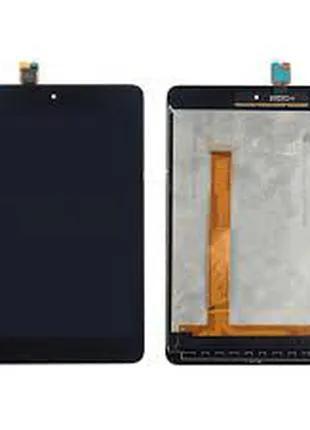 Дисплей для Xiaomi Mi Pad 2 черный, с тачскрином