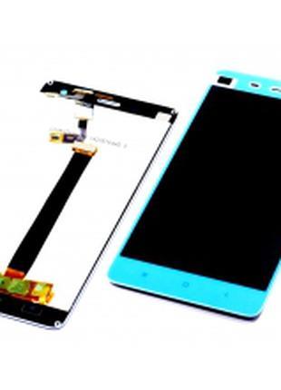 Дисплей для Xiaomi Mi4 белый, с тачскрином