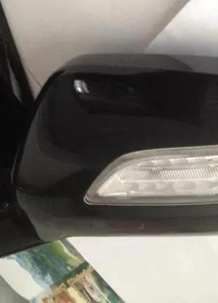 76250-STX-A030-M8. Зеркало боковое левое на Acura MDX. Оригинал.