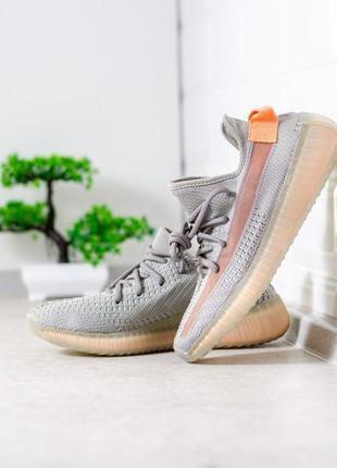 Adidas yeezzy boost 350 grey ♦ женские кроссовки ♦ весна лето ...