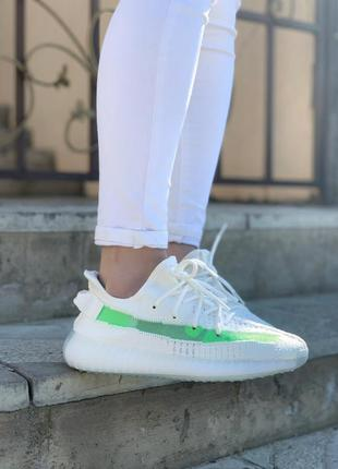 Adidas yeezy boost 350 v2 white green