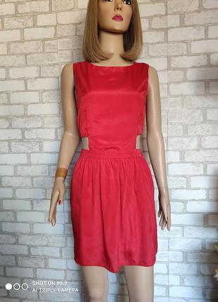 Красное мини платье с пышной юбкой 🔥missguided🔥 короткое яркое...