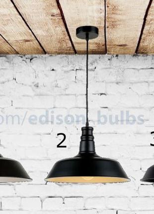 Подвесной Светильник в Лофт стиле для бара, ресторана, лампы Э...