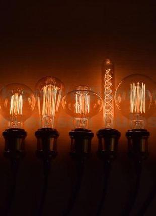 Ретро Лампы Эдисона лампа Винтажная Лампочка Эдисона Edisons Л...