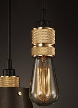 Ретро патрон декоративный из 2 частей д/ Лампы Эдисона Лофт Св...