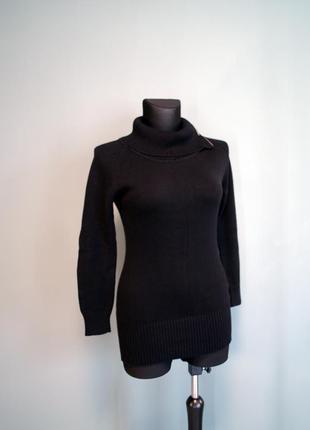Длинный свитер с молнией