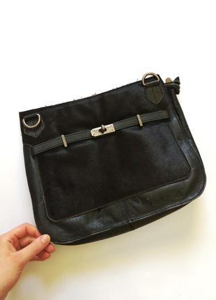 Стильная кожаная сумка modapelle с длинным ремешком,оригинал, ...