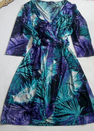 Платье 56 58 большой размер с рукавом бюстье нарядное распрода...