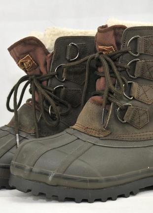 Donner mountain, мужские ботинки зимние прорезиновые, войлочны...