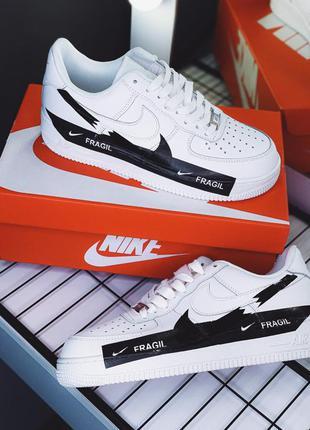 Nike air force 1 low fragil white ♦ мужские кроссовки ♦ весна ...