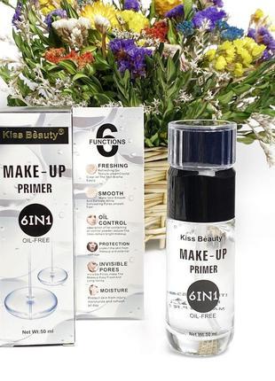 Праймер для макияжа 6 в 1 kiss beauty make-up primer к.1342