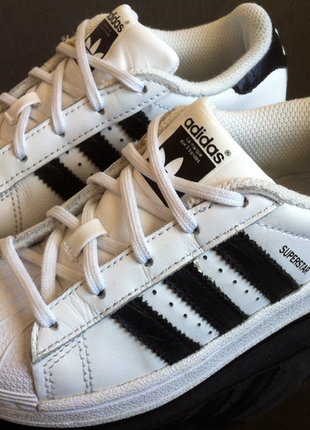 Мега стильные кожаные кроссовки adidas superstar 👟🔥🔥 размер 29...
