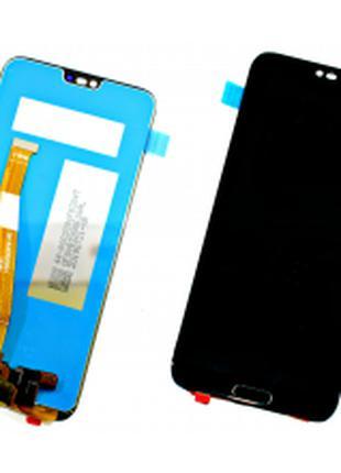 Модуль Huawei Honor 10 (COL-L29) черный с отпечатком