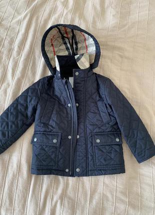 Крутяцкая куртка ветровка демисезон шстёганая 2-3 года