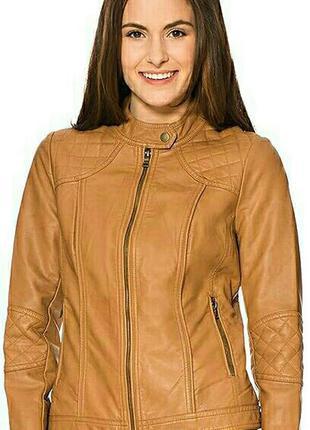 Косуха куртка пиджак жакет из искусственной эко кожи orsay све...