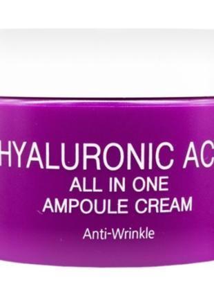 Ампульный крем Ekel Hyaluronic Acid All In One Ampoule Cream