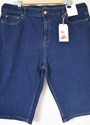 Новые джинсовые шорты большого размера f&f