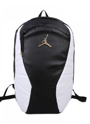 Рюкзак jordan retro 12 black/white