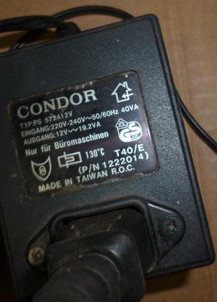 Блок питания адаптер 12в 19.2va переменка трансформатор AC