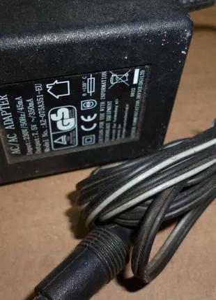 блок питания адаптер 7.5в 350Ma переменка трансформатор AC
