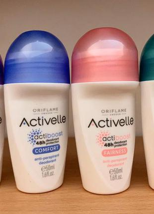 Activelle шариковый дезодорант-антиперспирант