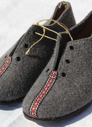Волйлочные туфли-тапки из германии