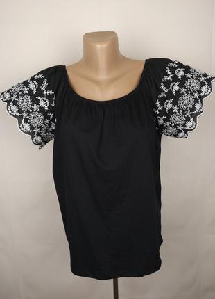 Блуза новая стильная батистовка h&m uk 10/38/s