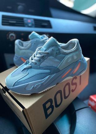 Adidas yeezy boost 700 inertia 🔺 женские кроссовки адидас изи 700