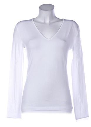 Итальянская женская футболка с длинным рукавом кофточка топ ya...