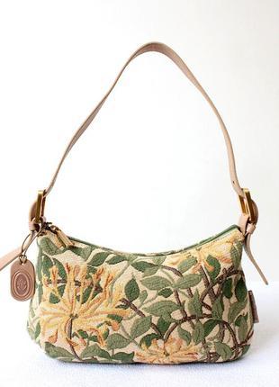 #розвантажуюсь сумка кожаная гобеленовая smith & canova (англия)