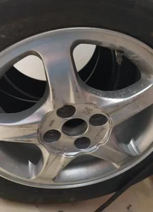 Колесо шина радиал 195 60 r15 диск разболтовка 4×100