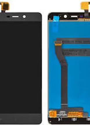 Дисплей для Xiaomi Redmi 4 Prime/Redmi 4 Pro черный, с тачскрином