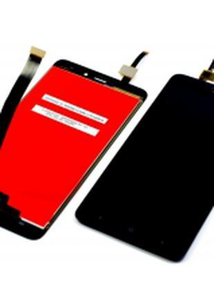 Дисплей для Xiaomi Redmi 4A черный, с тачскрином