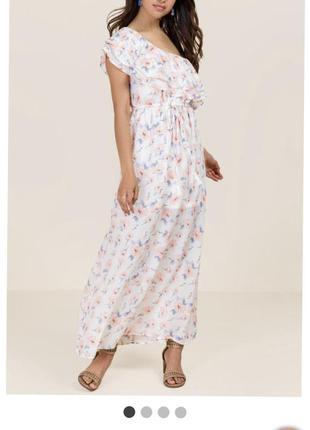 Длинное платье в пол francesca's