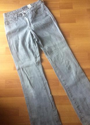Светло-серые джинсы armani jeans, оригинал