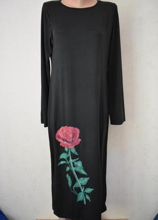 Новое легкое платье с принтом