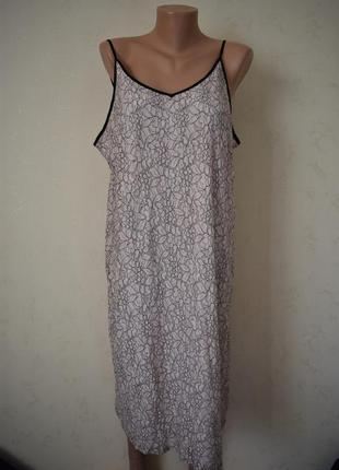 Кружевное платье в бельевом стиле большого размера simply be