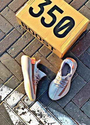 Adidas yeezy boost 350 grey ♦ женские кроссовки ♦ весна лето о...