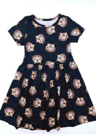 Летнее платье на девочку
