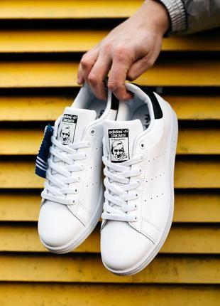 Adidas stan smith «white/black»🔺мужские кроссовки адидас стан ...
