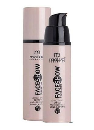 Malva cosmetics face show foundation тональный крем, в наличии...
