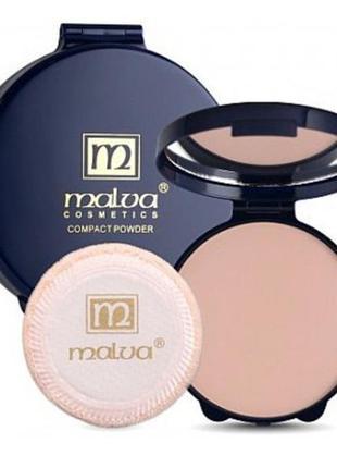 Malva cosmetics compact powder with camelia oil  пудра для лиц...