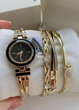 Женские часы Anne Klein AK-3576BKST